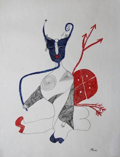 cuba-art-dessin-masque-aconcha