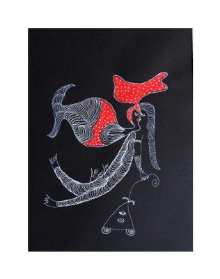 cuba-art-dessin-monochrome-chango-aconcha