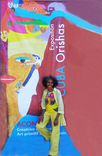 Aconcha.Exposition Cuba y los Orishas