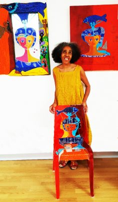 """Vernissage de l'exposition: """"Dans les sillons de l'art brut"""