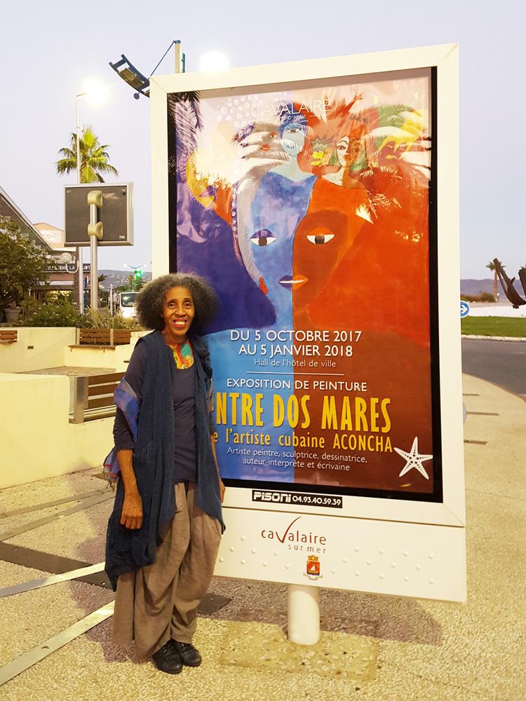 Aconcha affiche exposition Entre dos Mares