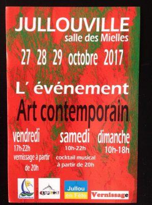 affiche l'événement d'art contemporain 2017
