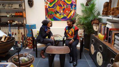 Aconcha et Dennya à la galerie Eloka