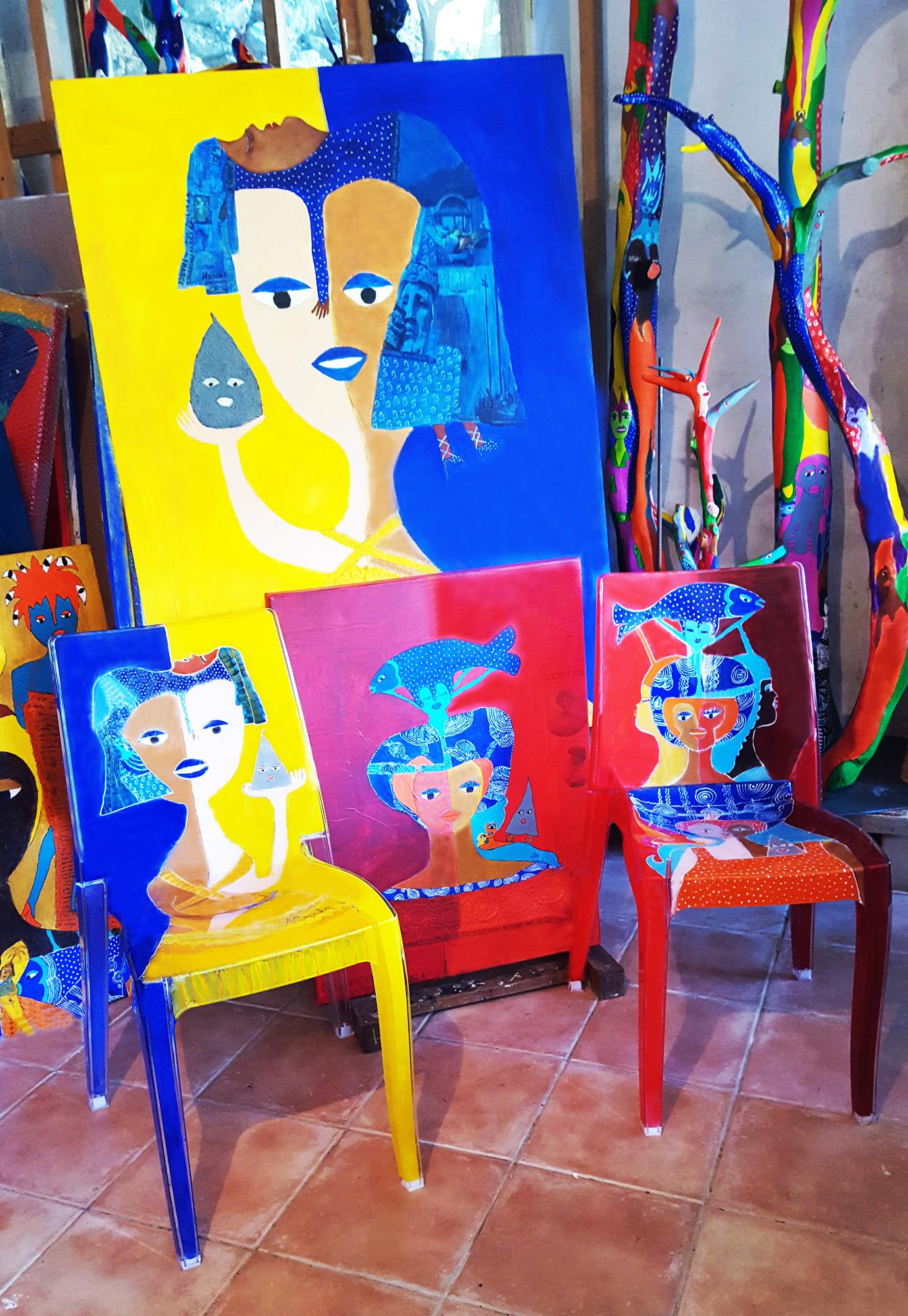 Aconcha.Installation artistique