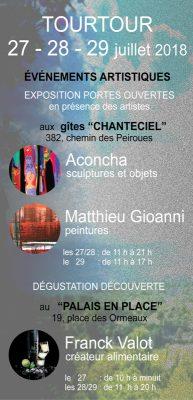 Flyer recto exposition Tourtour