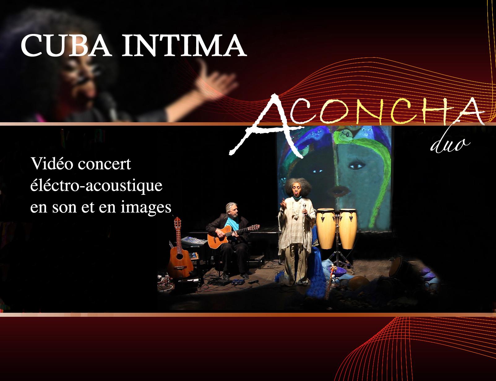 Aconcha duo Cuba Intima