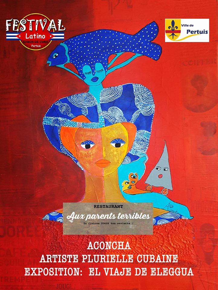 Aconcha afiche el viaje de Eleggua