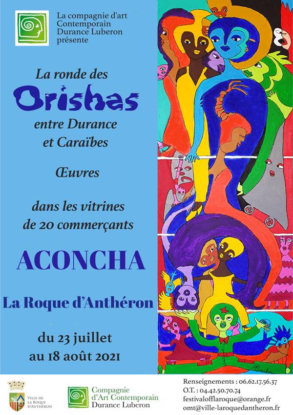 Aconcha. La Ronde des Orishas entre la Durance et la Caraïbe