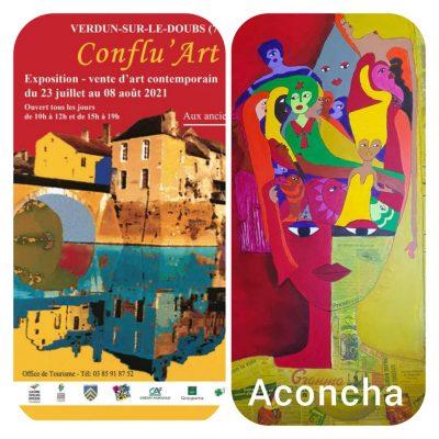 Aconcha. affiche Confluart